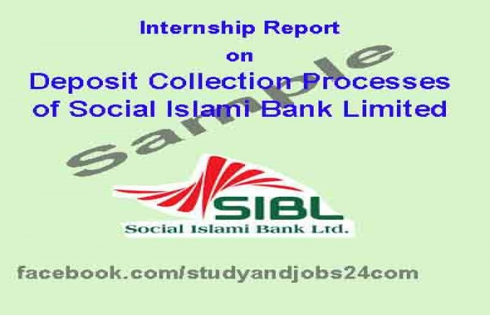 internship report on social islami bank limited of bangladesh page1 Internship report on social islami bank limited of bangladesh director of opa american international university-bangladesh (aiub) banani, dhaka subject: request to accept my internship report.