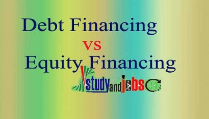 Debt Financing versus Equity Financing