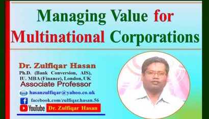 Managing Value for Multinational Corporations