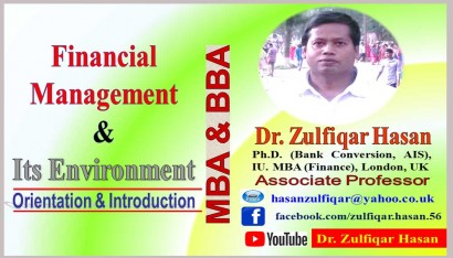 Financial Management and Its Environment